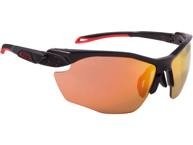 Alpina Twist Five HR CM+ Glasses black matt-red